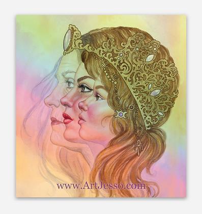 Maiden Mother Crone Sticker