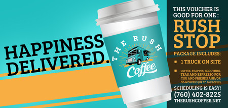 The Rush Voucher they'll love!
