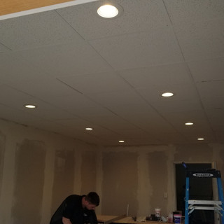 Ceiling install