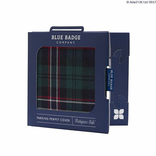 Blue Badge Permit Cover - Blackwatch Worsted VAT EXEMPT