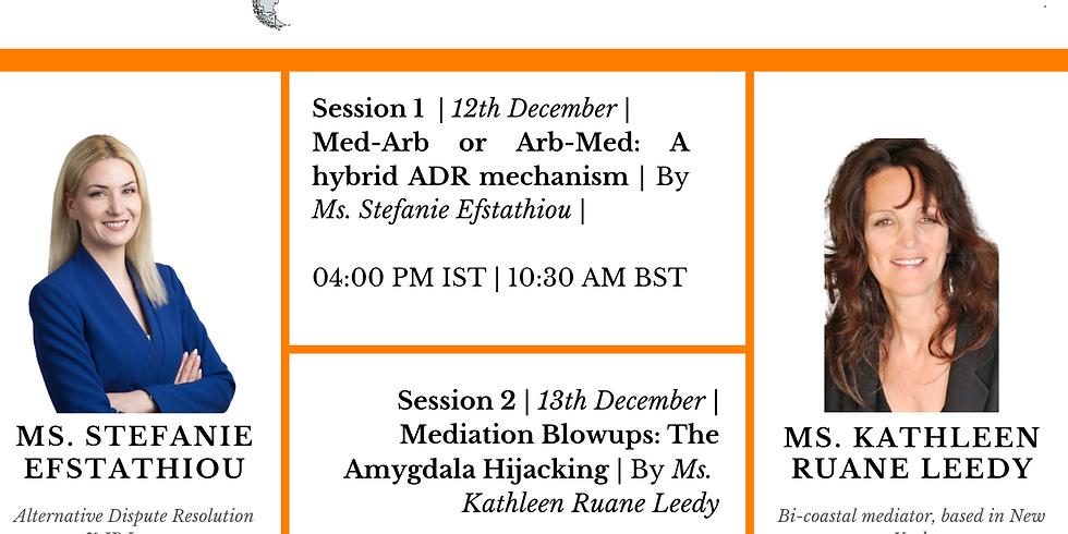 4th International Workshop on ADR