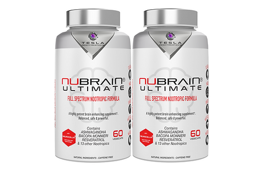 2 Bottles Nubrain Ultimate Nootropic Capsules