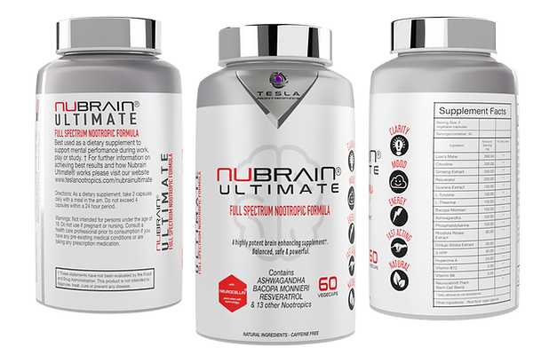 Nubrain Ultimate Natural Nootropic