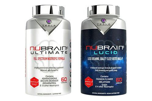 Nubrain Ultimate + Lucid Nootropic DUO Capsules