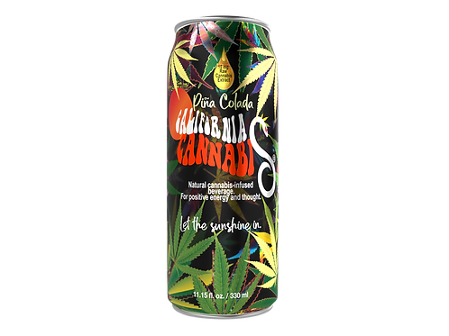 Nubrain California Cannabis® CBD infused drink x 12 (11.15 FL OZ cans x 12)