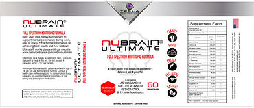 Nubrain Ultimate Natural Nootropic