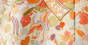 日本傳統紡織「西陣織」にしじんおり