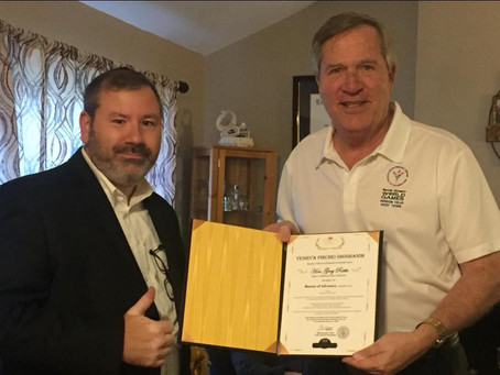 Mayor Raths Receives Honorary Doctorate from YPS