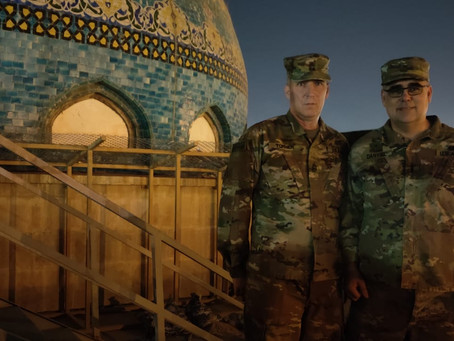 Pirchei Shul's Senior Rabbi Heads to Baghdad.