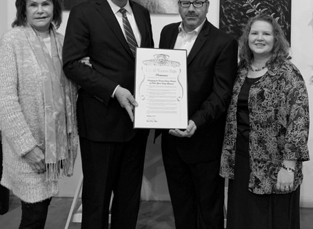 Mayor Raths Recognizes Rabbi Montanari for Outstanding Community Service