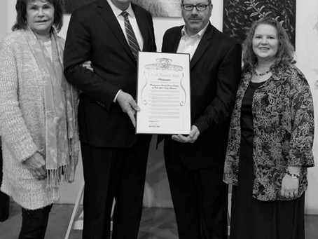 Mayor Raths Recognizes Rabbi Montanari for Outstanding Community Service