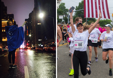 Shannon & Caitlyn Kearney | NYC Marathon 2018