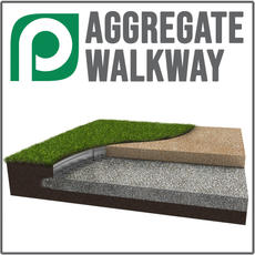 Aggregate Walkway Application