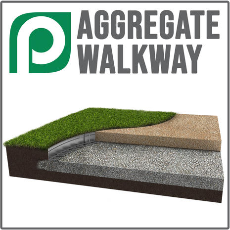 Aggregate Walkway Application