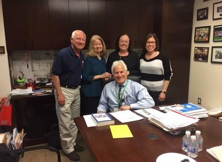 Heather's Fund Visits Cohen Children's Medical Center