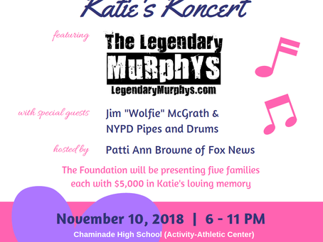 7th Annual Katie's Koncert Tix on Sale Now