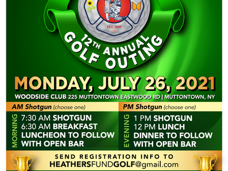 12th Annual Golf Outing