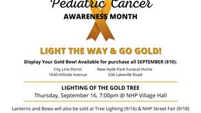 Pediatric Cancer Awareness Month