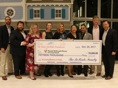 $15,000 donated to Ronald McDonald House