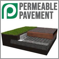 Permeable Pavement Application
