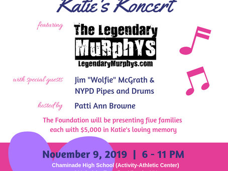 8th Annual Katie's Koncert Tix on Sale Now