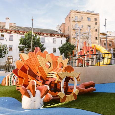 Willie Woo Woo Wong Playground, California