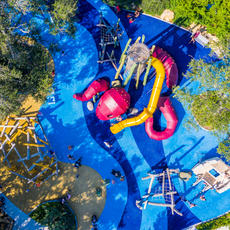 St. Pete Pier playground, Florida