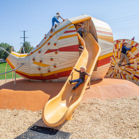 Sugar Beet playground, Colorado