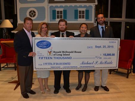 KMF Donates $15,000 to Ronald McDonald House