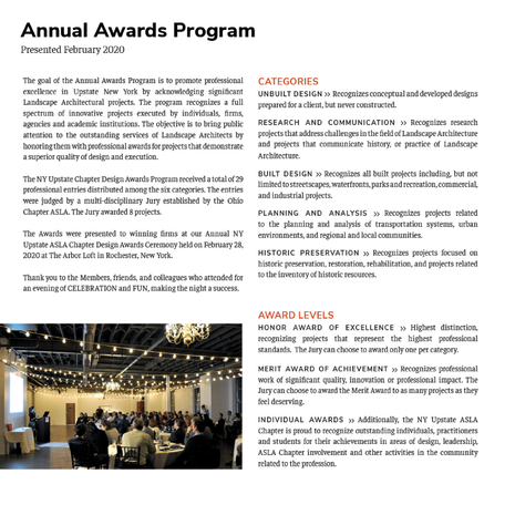 NYUASLA Annual Awards Program
