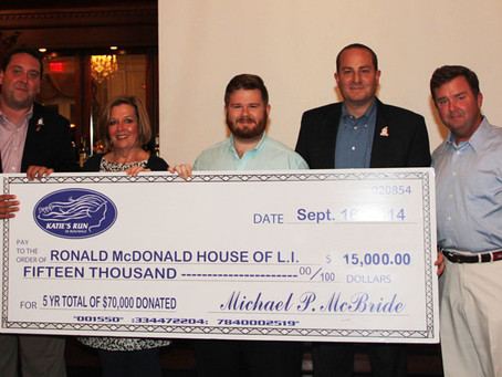 $15k Donated to Ronald McDonald House!