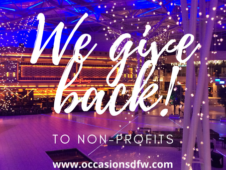 Occasions Events & Design Gives Back