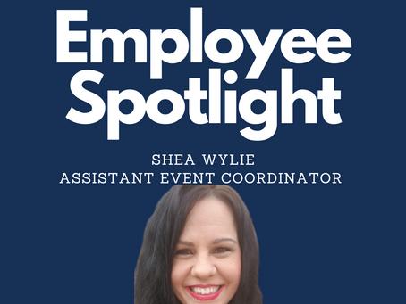 Employee Spotlight, Shea Wylie