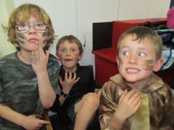 Lost Boys backstage