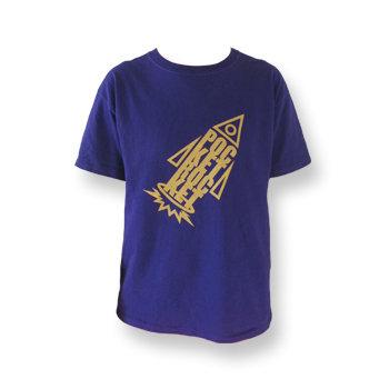 Pocket Rockets T-shirt Purple