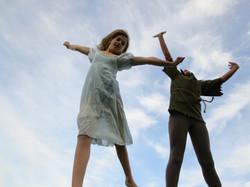 Wendy & Peter Flying