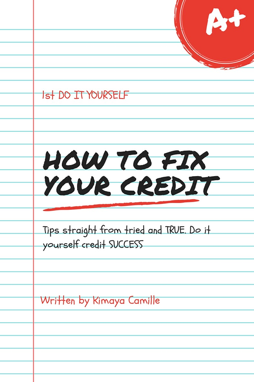 How to fix my credit