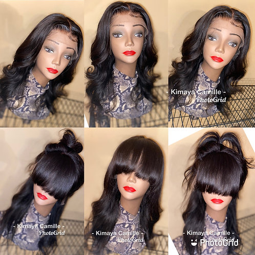 Straight Lace wig unit
