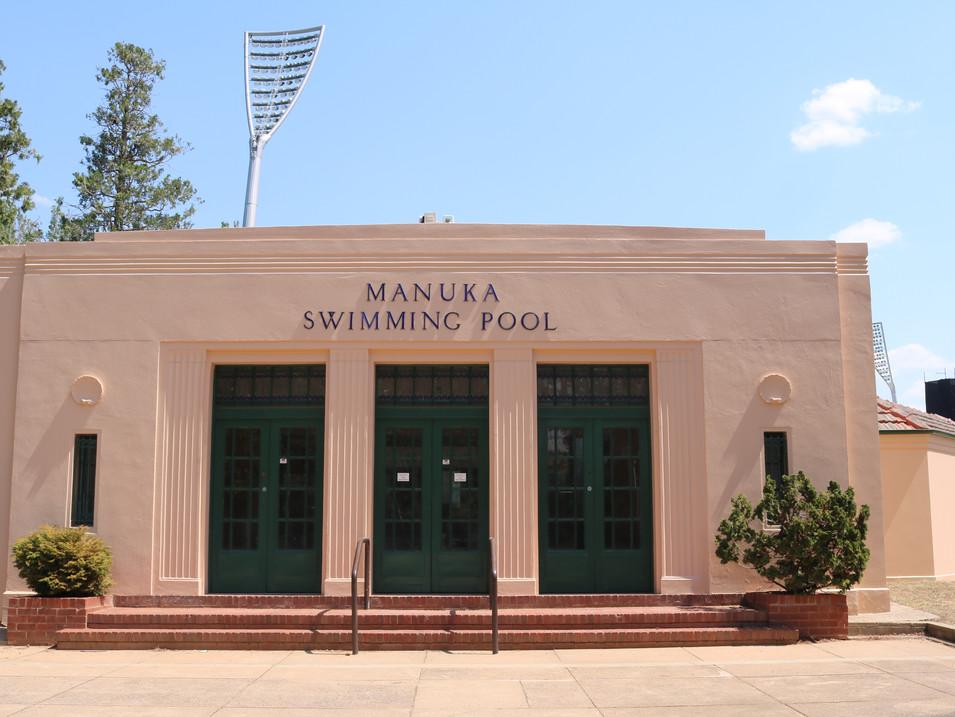 Manuka Pool Repaint - 2019