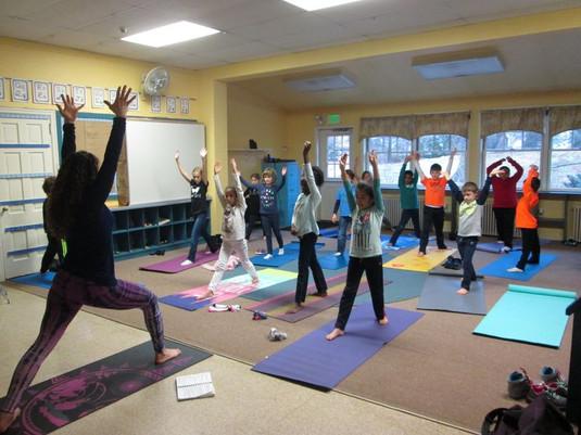 Kids' Yoga at HFS