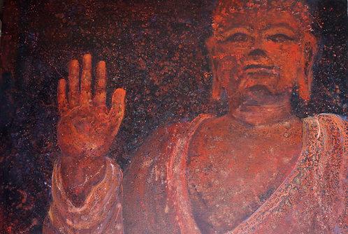Oil Painting- Abhaya