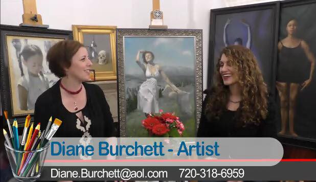 "Artist Diane Burchett on ""Off the Mat"""