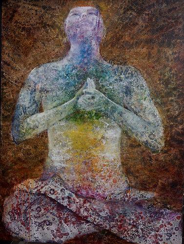 Oil Painting- Tenzin
