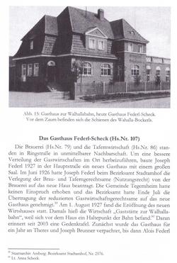Das Gasthaus damals