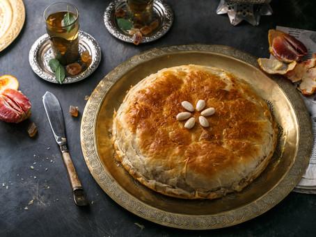 Pastilla - Met kip gevulde bladerdeeg taart  [Traditioneel]