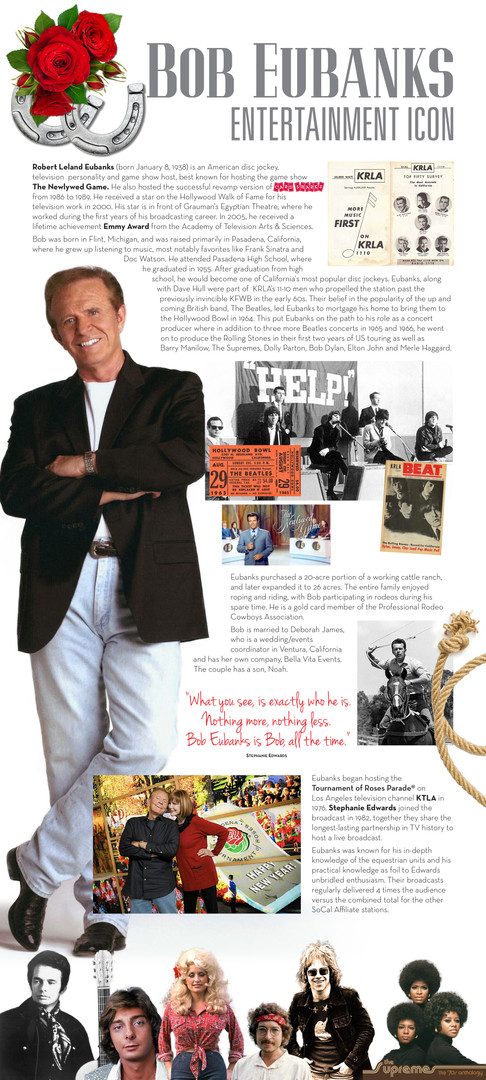 Bob Eubanks Entertainment Icon