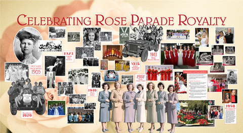 Celebrating Rose Parade Royalty
