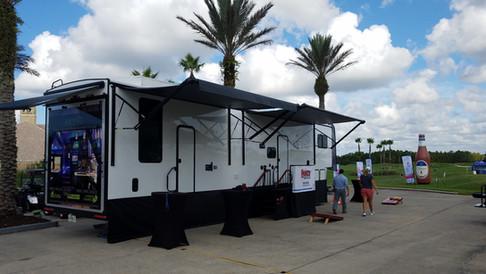 Road to the LPGA event in Daytona Beach