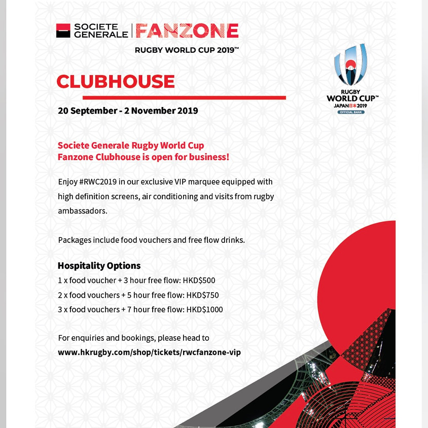 Rugby World Cup Fanzone