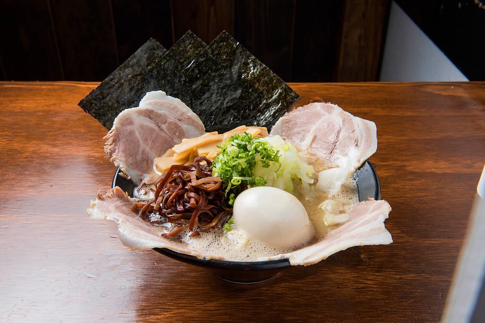 Ikkousha Tonkotsu ramen best noodle near me